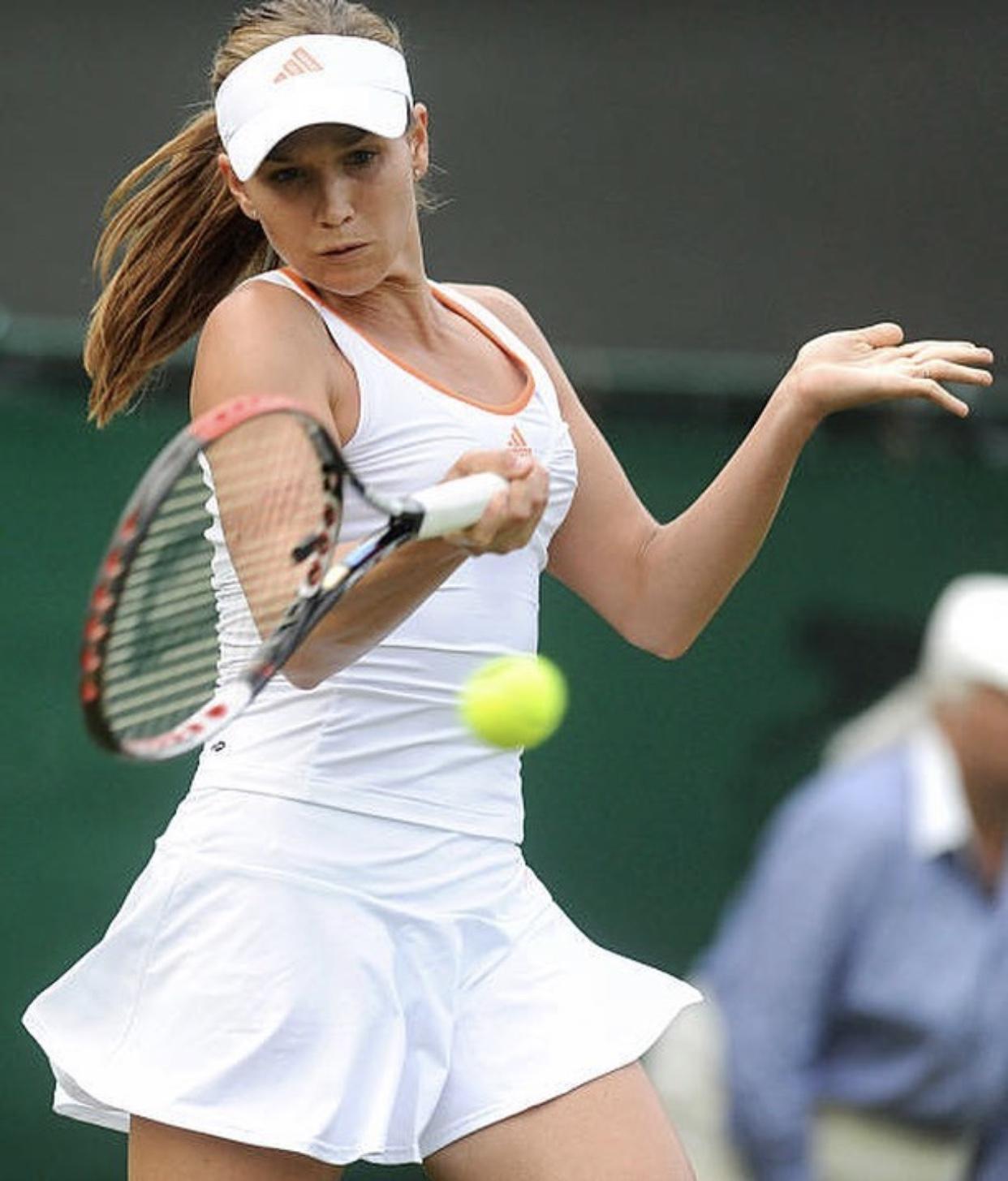 Ex-tennis star Ashley Harkleroad goes naked to save money